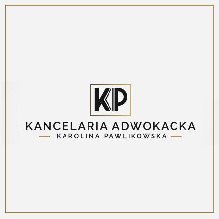 Kancelaria Adwokacka Adwokat Karolina Pawlikowska