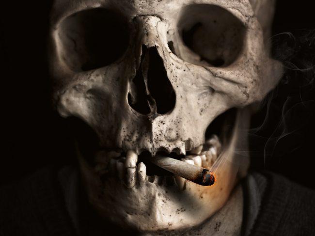 Badania natemat ostrzeżeń napaczkach papierosów